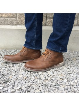 XTI MENS TAN ANKLE BOOT